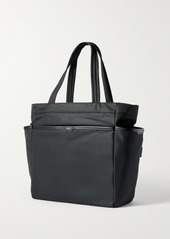 Anya Hindmarch Working From Home Leather-trimmed Recycled Shell Tote