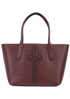 Anya Hindmarch woven bow tote