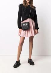 Anya Hindmarch woven leather crossbody bag