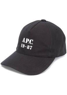 A.P.C. 19-87 baseball cap