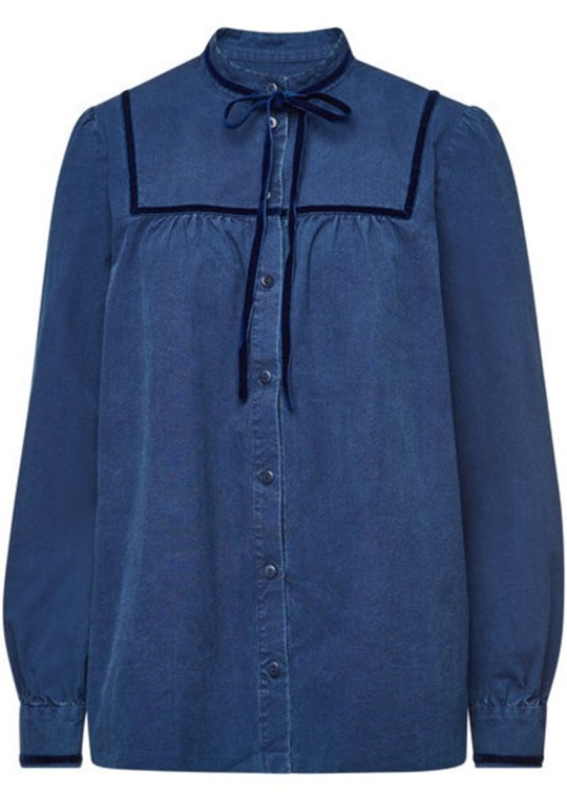 A.P.C. Abott Denim Blouse