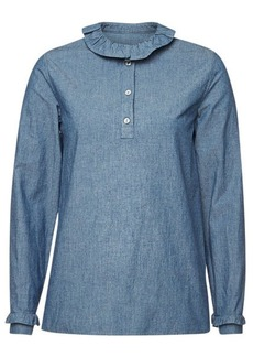 A.P.C. Agathe Denim Blouse