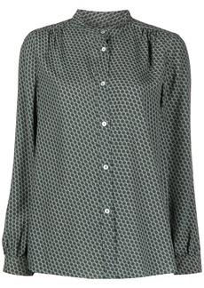 A.P.C. Alice chain-print shirt