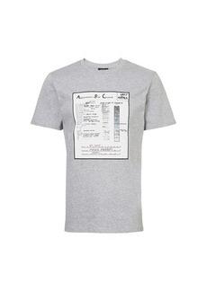 A.P.C. Anatomic t-shirt