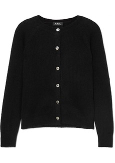 A.P.C. Anda Wool-blend Cardigan