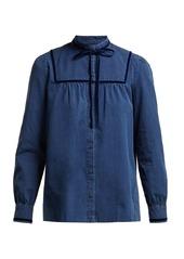 A.P.C. Abott cotton blouse