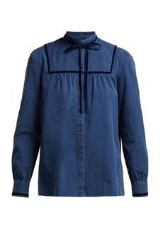 A.P.C. Abott cotton blouse