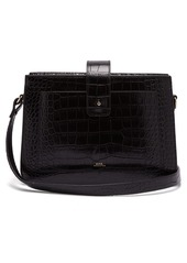 A.P.C. Albane crocodile-effect leather shoulder bag