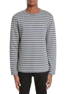 A.P.C. Albert Stripe Crewneck Sweatshirt