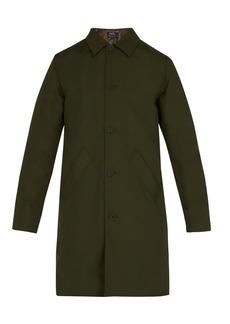 A.P.C. Alex point-collar raincoat