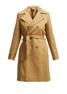 A.P.C. Alexis belted cotton trench coat