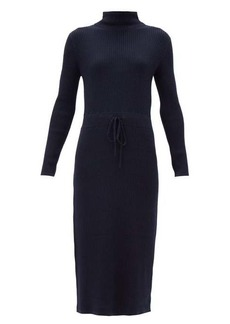 A.P.C. Alma roll-neck merino-wool knitted dress