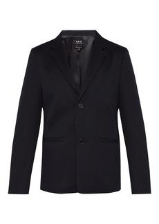 A.P.C. Archie cotton-twill blazer