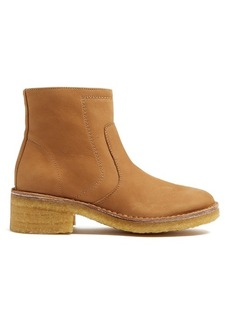 A.P.C. Ariette nubuck ankle boots