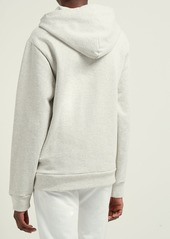 A.P.C. Aston hooded cotton-blend terry sweatshirt