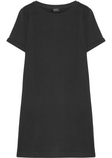 A.P.C. Atelier de Production et de Création Beckie cotton T-Shirt dress