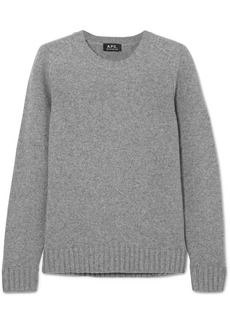 A.P.C. Vivian wool and cashmere-blend sweater