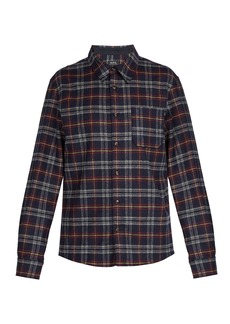 A.P.C. Attic wool-blend shirt