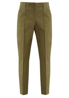 A.P.C. Augusta straight-leg cotton trousers