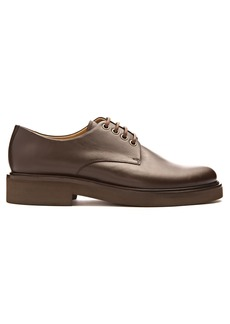 A.P.C. Autumn leather derby shoes