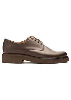 A.P.C. Autumn leather derby shoes