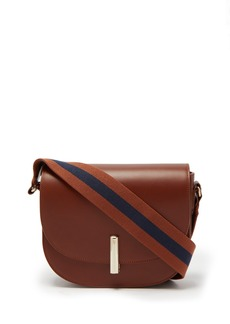 A.P.C. Ava leather saddle bag
