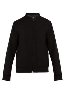 A.P.C. Barrett wool-blend bomber jacket