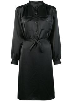 A.P.C. belted midi shirt dress