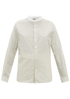 A.P.C. Bettina striped cotton shirt