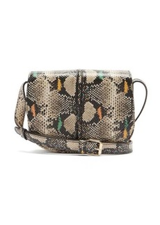 A.P.C. Betty snake-effect leather cross-body bag