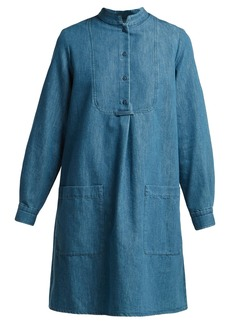 A.P.C. Bib-front denim dress