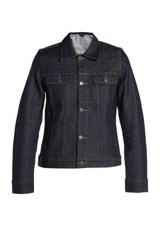 A.P.C. Brandy raw-denim jacket