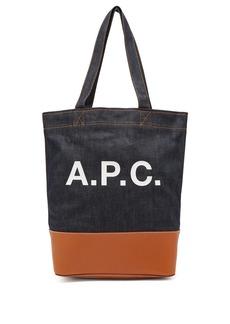 A.P.C. Cabas Axel tote bag