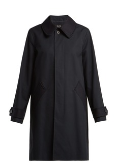 A.P.C. Cabourg cotton mac
