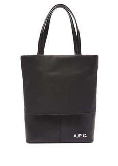 A.P.C. Camden logo-print tote bag