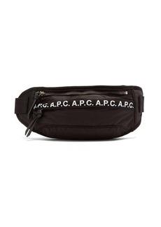 A.P.C. Camden logo-trim nylon cross-body bag