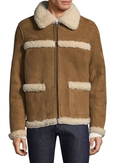 A.P.C. Canadienne Fur Coat