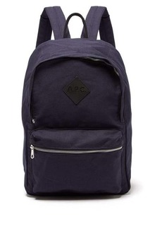 A.P.C. Canvas backpack