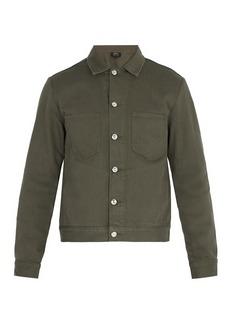 A.P.C. Career cotton-denim jacket