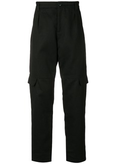 A.P.C. cargo pocket mid-rise trousers - Black
