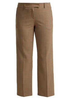 A.P.C. Cece checked trousers