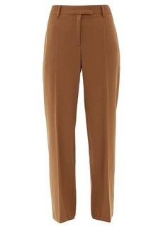 A.P.C. Cece high-rise twill straight-leg trousers