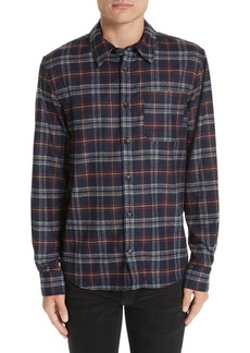 A.P.C. Check Flannel Shirt