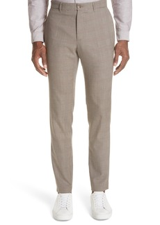 A.P.C. Check Wool Blend Pants