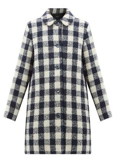 A.P.C. Checked bouclé coat