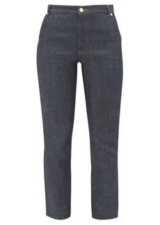 A.P.C. Chic raw-denim straight-leg jeans