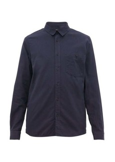 A.P.C. Chicago brushed cotton-twill shirt