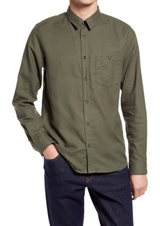 A.P.C. Chicago Solid Button-Up Shirt