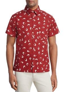 A.P.C. Cippi Pattern Regular Fit Button-Down Shirt