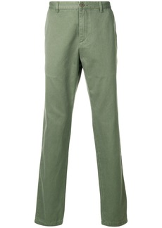 A.P.C. classic chinos - Green